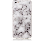 For Huawei P8 Lite P9 Lite Case Cover Marble High - Definition Pattern TPU Material IMD Technology Soft Package Mobile Phone Case