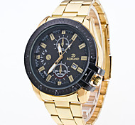 Men's At Single Epoch Is High-Grade Commercial Alloys Quartz Watch