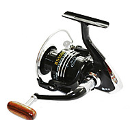 FISHDROPS BSLGH5000 5.5:1, 13 Ball Bearings One Way Clutch Spinning Fishing Reel, Right & Left Hand Exchangable