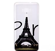 For Asus Zenfone 3 ZE520KL ZE552KL Tower Pattern Relief Luminous TPU Material Phone Case