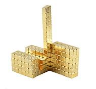 Недорогие -Магнитные игрушки Кубики-головоломки Неодимовый магнит Устройства для снятия стресса 64 Куски 5mm Игрушки Магнитный Квадратный Подарок