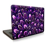 Para macbook air 11 13 / pro13 15 / pro con retina13 15 / macbook12 cactus púrpura descrito apple laptop case