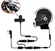 cheap -Motorcycle Full Face Helmet Headset Earpiece for Two Way Radio  Walkie Talkie 365 Baofeng Kenwood Wanhua