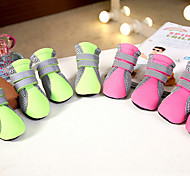 Cat Dog Shoes & Boots Cute Casual/Daily Fashion Sports Love Green Pink For Pets