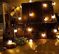 Недорогие -Ая новинка 20 привели глобус соединяемой гирлянды партии мяч струнных светильники для феи свадьбы сад кулон гирляндой