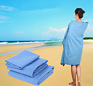 cheap -Fresh Style Bath Towel, Solid Colored Superior Quality 100% Micro Fiber Towel Bath Towel