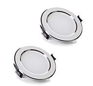 Недорогие -ZDM® 5 Вт. 400-500LMlm 10 светодиоды LED даунлайт Тёплый белый Холодный белый AC220