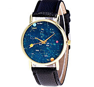 Women's Fashion Watch Wristwatch Business Classic Quartz Top Brand Starry Sky Leather Band Cool Casual Unqiue Watches Relogio Feminino