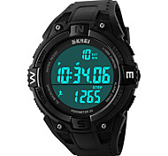 cheap -SKMEI 1141 Men's Woman Watch Double Significant Outdoor Sports Watch Mountain Climbing Waterproof Electronic Watch Male LED Students Multi - Function