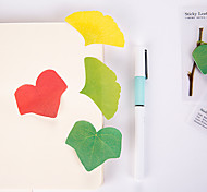 1 PCS Leaf Shape Self-Stick Notes Set