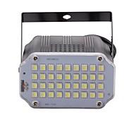 U'king мини-контроль звука 36pcs белый светодиод комната стробоскоп прожекторное освещение сцены для дискотеки вечеринка dj light домашний