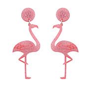 Недорогие -Жен. Серьги-слезки Животный дизайн Euramerican Мода Акрил Прочее Птица Животный принт Бижутерия Свадьба Для вечеринок Halloween