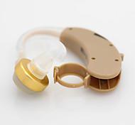 Недорогие -Аксон е-138 новый приход маломощный беспроводной слуховой аппарат слуховой аппарат за ухо аудифон усилитель звука