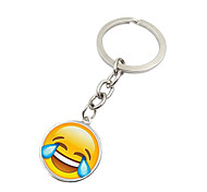 Key Chain Toys Key Chain Circular Metal 1 Pieces Not Specified Christmas Birthday Valentine's Day Gift