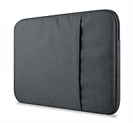 "Sleeve for MacBook Pro 13"" Solid Color Textile Material Suit Fabric Computer Bag Notebook Sleeve Case"