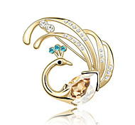 Women's Brooches Jewelry Unique Design Personalized Euramerican Gem Alloy Jewelry Jewelry For Party Daily Casual
