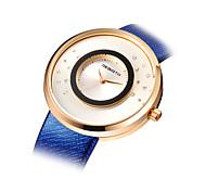 cheap -REBIRTH® Women's Fashion Creative Watch Quartz Alloy Band Blue Grey