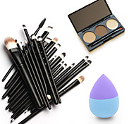 1 Eyebrow Powder Puff/Beauty Makeup Brushes Dry Face Eyes Lips Other China