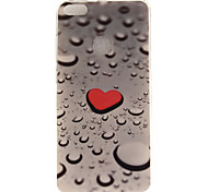 cheap -Case For Huawei IMD Pattern Back Cover Heart Soft TPU for P10 Lite P10 P8 Lite (2017) Honor 6X Huawei Y6 II / Honor Holly 3 Huawei Y5 II