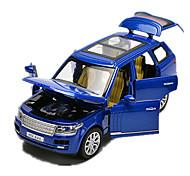 Недорогие -Модели автомобилей Машинки с инерционным механизмом Игрушечные машинки Игрушки внедорожник Игрушки Автомобиль Металлический сплав Металл