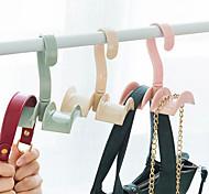 Недорогие -пластик Открытые Главная организация, 1шт Крючки Крючки для сумок Организация одежды Вешалки для галстуков