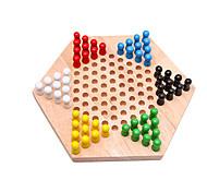 Недорогие -Настольные игры Игрушки Большой размер Игрушки Дерево Куски Универсальные Подарок