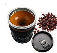 Недорогие -1шт эмуляция камеры объектив нержавеющая сталь внутренняя кухня обеденный бар домашний офис молочный чай кофе самовозбуждение кружка