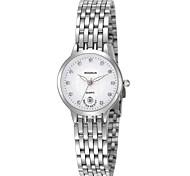 Mulheres Relógio de Moda Quartzo Lega Banda Prata Dourada Dourado Branco Preto Prata Loira luz