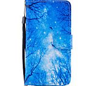 Недорогие -Кейс для Назначение SSamsung Galaxy A5(2017) A3(2017) Кошелек Бумажник для карт со стендом Флип С узором Магнитный Чехол дерево Твердый