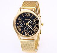 Недорогие -Мужской Модные часы Китайский Кварцевый Нержавеющая сталь Группа Cool Розовое золото