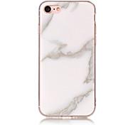 Недорогие -Для iphone 7 7 плюс чехол для крышки imd задняя крышка корпуса мрамор мягкий тпу для iphone 6s 6 plus 6s 6 se 5s 5 5c 4