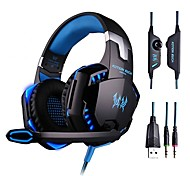 cheap -Gaming Headset Deep Bass Computer Game Headphones with microphone LED Light for computer PC Gamer