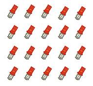 cheap -20Pcs T10 5*5050 SMD LED Car Light Bulb Red Light DC12V