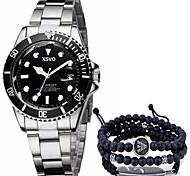 Men's Sport Watch Military Watch Fashion Watch Wrist watch Bracelet Watch Unique Creative Watch Casual Watch Chinese Quartz Calendar