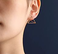 cheap -Women's Stud Earrings Euramerican Fashion Alloy Triangle Geometric Jewelry Daily Costume Jewelry