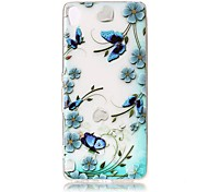 For Sony Xperia XZ Premium XA Case Cover Butterfly Love Flowers Pattern Painted Relief High Penetration TPU Material Phone Case XA1 E5