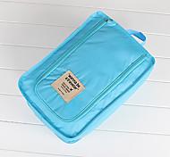 Органайзер для чемодана Дорожный мешок для обуви Водонепроницаемость Компактность Складной Хранение в дороге для Одежда Туфли Нейлон /