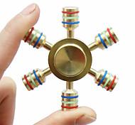 Спиннеры от стресса Ручной обтекатель Игрушки Кольцо Spinner Латунь EDCФокусная игрушка Сбрасывает СДВГ, СДВГ, Беспокойство, Аутизм