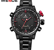 WEIDE Men's Sport Watch Fashion Watch Japanese Quartz Digital Japanese Quartz Alarm Calendar Water Resistant / Water Proof LED Dual Time
