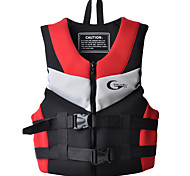 Life Jacket Life Vest Breathable Diving Surfing Nylon Neoprene EPE Fashion Red Blue