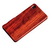 Недорогие -Cornmi for sony xperia z3 деревянный корпус корпуса из бамбука корпус сотового телефона деревянный корпус для защиты от шума