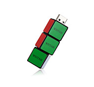 Weitasi cubo u disco usb 2.0 memoria flash memoria stick disco de almacenamiento disco digital u disco 32g