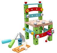 Недорогие -Набор для творчества Конструкторы Обучающая игрушка Для получения подарка Конструкторы Модели и конструкторы Дерево2-4 года 5-7 лет 8-13