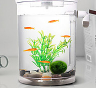 Недорогие -Оформление аквариума Мини аквариумы Орнаменты Энергосберегающие Бесшумно Нетоксично и без вкуса Стерилизатор Искусственная С