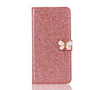 Недорогие -Для яблока iphone 7 плюс 7 держатель карты держатель для футляра полный футляр для тела блеск блеск жесткий кожа pu для iphone 6s плюс 6