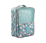Travel Luggage Organizer / Packing Organizer Travel Shoe Bag Waterproof Compression Travel Storage for Clothes Nylon / Floral Travel