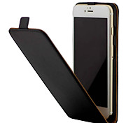Pour iphone 7 7 plus cuir de grain en cristal avec flip up and down 6s 6 plus se 5s 4s