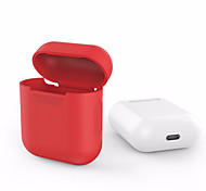 cheap -For Apple Airpods AirPods Silicone Transparent Case Protective Cover Pouch Anti Lost Protector Elegant Sleeve