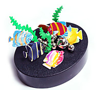 cheap -Magnet Toy Display Model / Metal Puzzle 1pcs Creative / Magnetic / Colorful Fish Adults' Gift