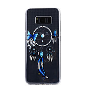 For Samsung Galaxy S8 Plus S8 Case Cover Wind Chimes Pattern Drop Glue Varnish High Quality TPU Material Phone Case S7 Edge S7 S5